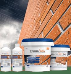 Das Stormdry System - Das vollständige Angebot zur Hydrophobierung von Mauerwerk