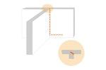 Vertikale Behandlung gegen Feuchtigkeit, um angrenzende Wände zu isolieren, usw.