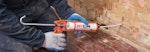 Installation of Dryzone Damp-Proofing Cream
