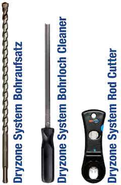 Die Dryzone System Werkzeuge