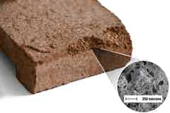 Poröser Ziegelstein