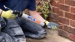 'Dryzone beseitigt Probleme mit aufsteigender Feuchtigkeit in einem Wohnhaus in Derby'