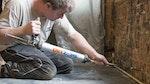 'Denkmalgeschütztes Wohnhaus, West Sussex - Neuverputzen nach aufsteigender Feuchtigkeit'