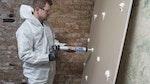 'Victorianisches Wohnhaus, Croydon - Express System zum Wiederverputzen nach der Behandlung von aufsteigender Feuchtigkeit'
