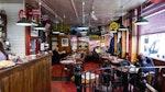 Im The Star Café in Soho