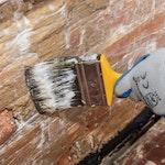 Dryshield auf die Wand auftragen