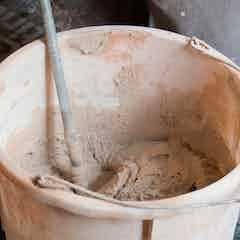 Dryzone Sanierputz vermischen