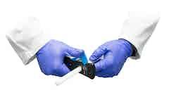 Dryrods können mit dem Dryrod Cutter zugeschnitten werden.