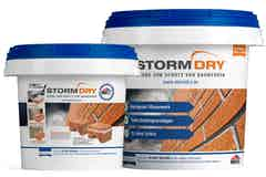 Stormdry Creme zum Schutz von Bauwerken