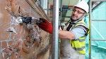 'Mauern Sanieren nach eindringender Nässe'
