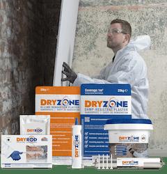 Das Dryzone System - Das vollständige Angebot zur Sanierung nach aufsteigender Feuchtigkeit